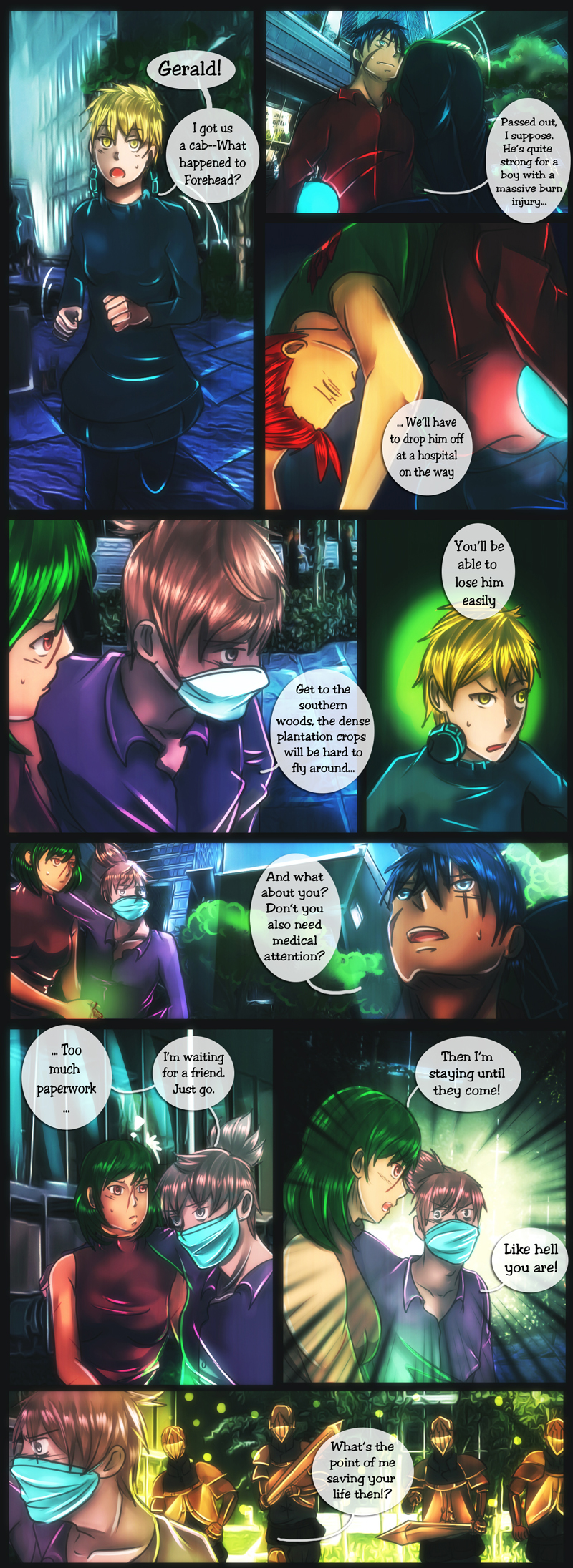 Ch 5 - Pg 1 - Like Hell You Are